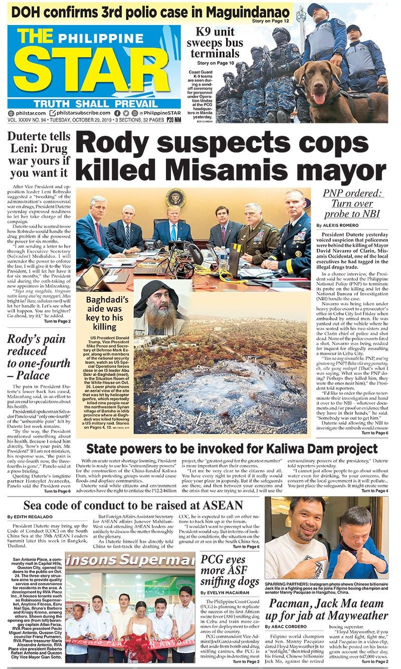 The STAR Cover (October 29, 2019)