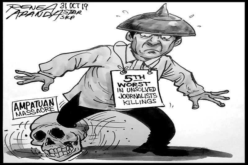 EDITORIAL � Still 5th in impunity