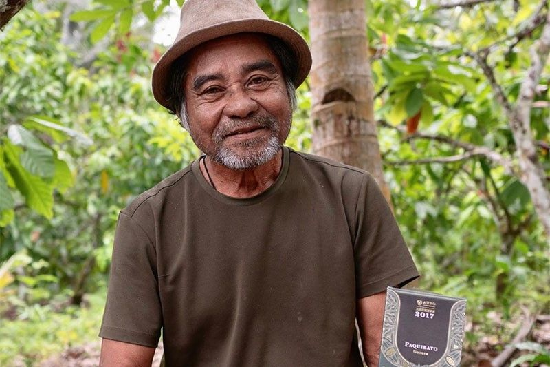 Filipino farmer's cacao beans among top 20 in the world
