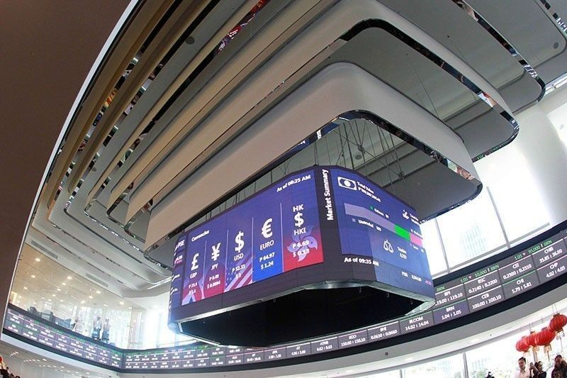 Share prices advance on positive GDP data