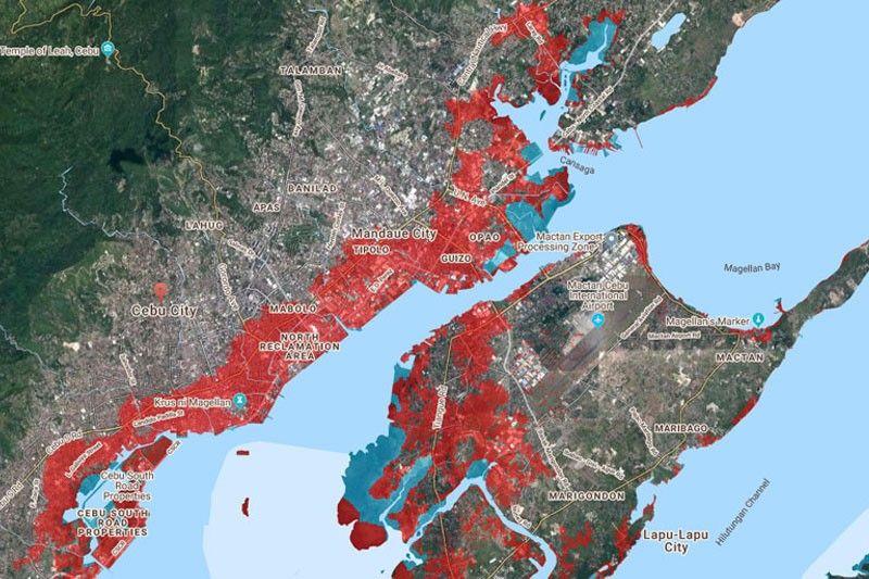 Study: Parts of Cebu City may submerge by 2050