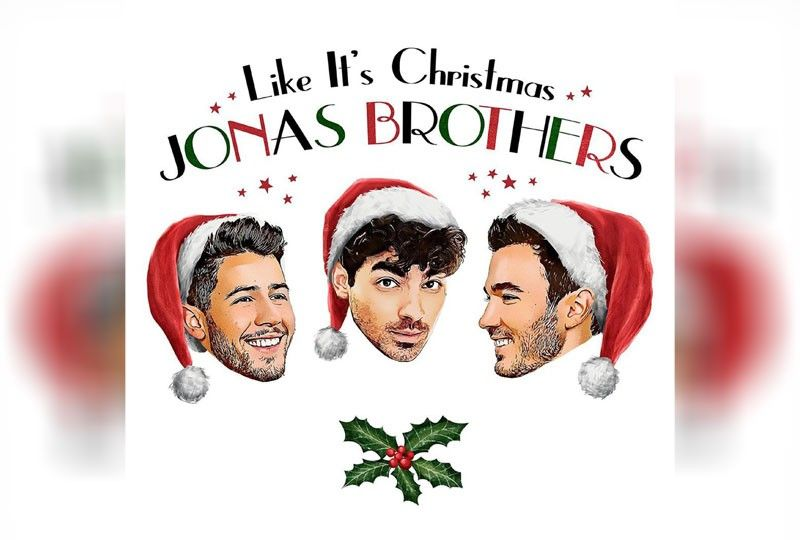 Jonas Brothers release Christmas song