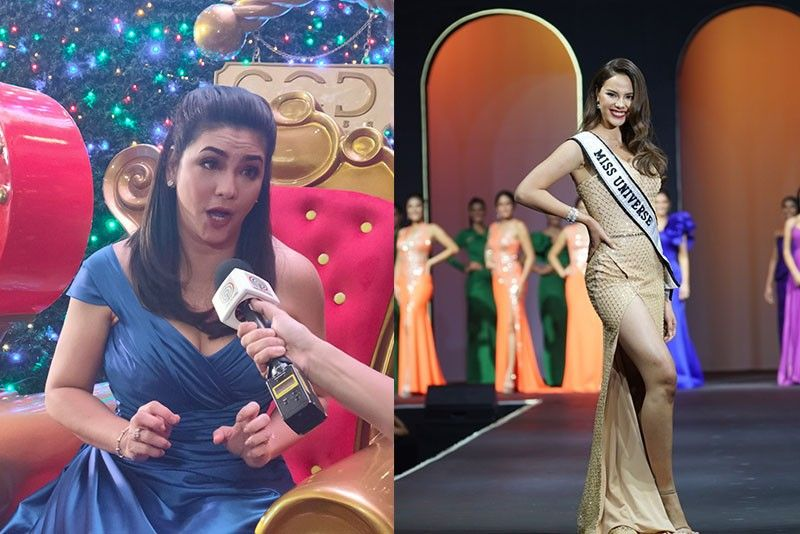 Regine Velasquez reacts to viral 'nganga' video with Catriona Gray