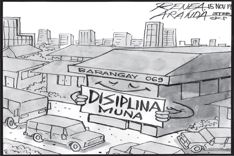 EDITORIAL - Discipline first