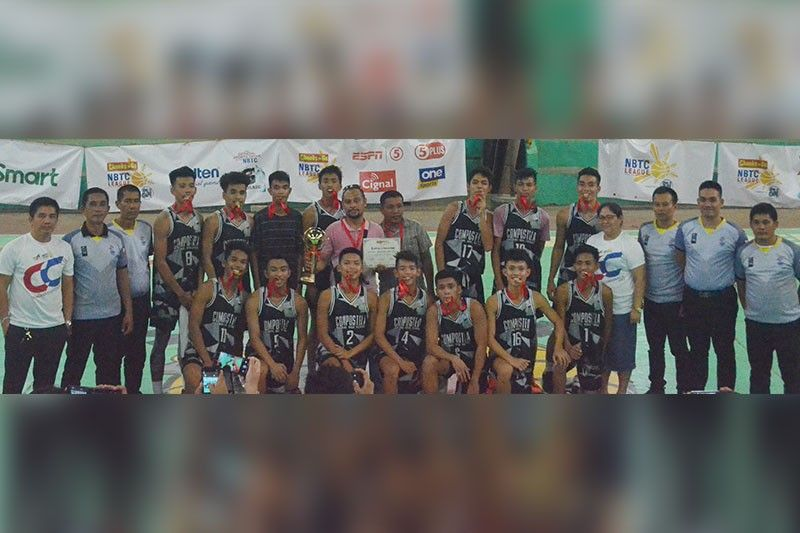 Compostela NHS bags title of NBTC-North Cebu leg