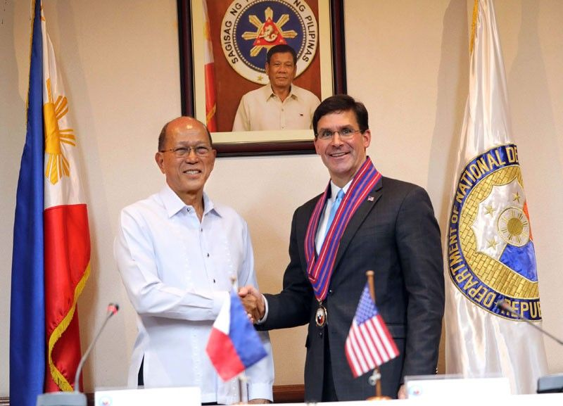 US stands by defense treaty with Philippines