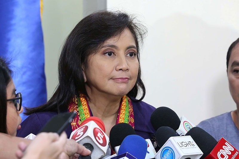 Robredo: I'll do what I can while ICAD co-chair