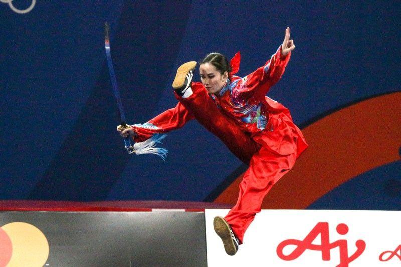 Wong wins 2nd wushu gold