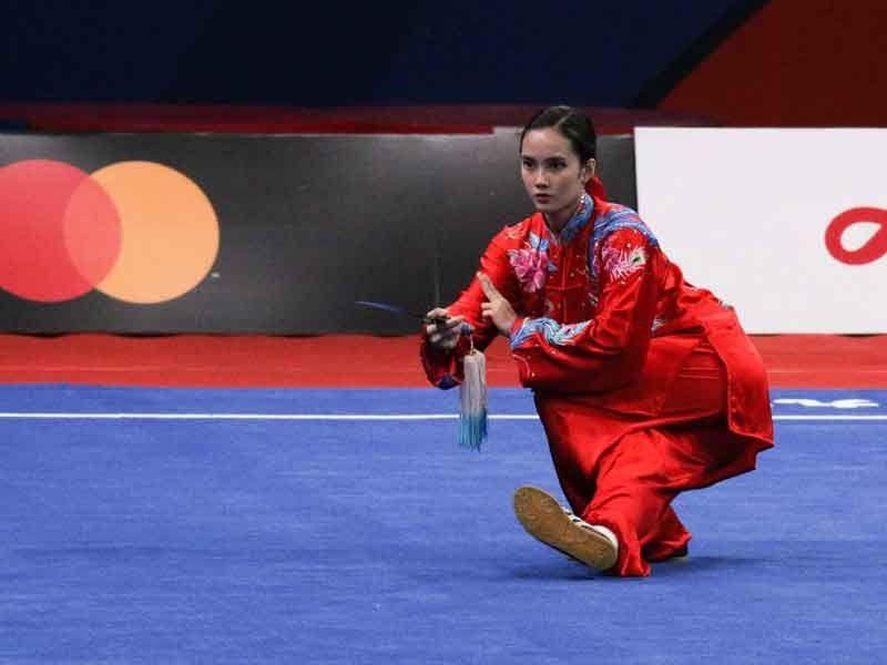 Agatha Wong clinches 2nd gold in SEA Games Wushu