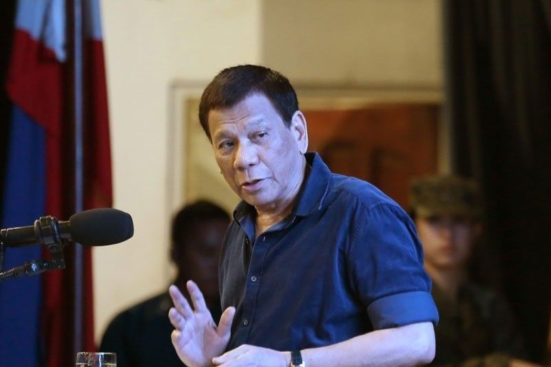 No presents for Duterte, but a motorbike would do