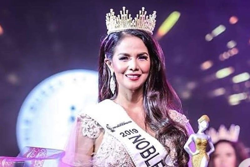 Patricia Javier first to win international beauty title