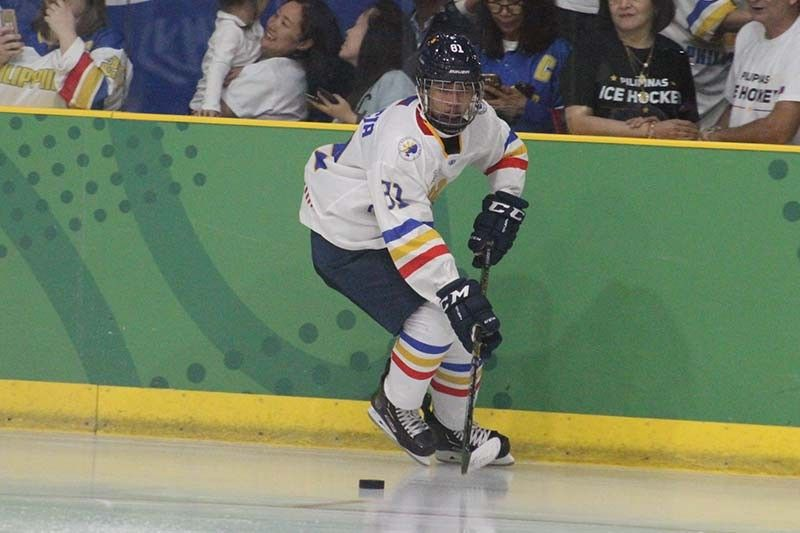 Regencia scores game-winner as Philippines escapes Singapore in SEA Games ice hockey