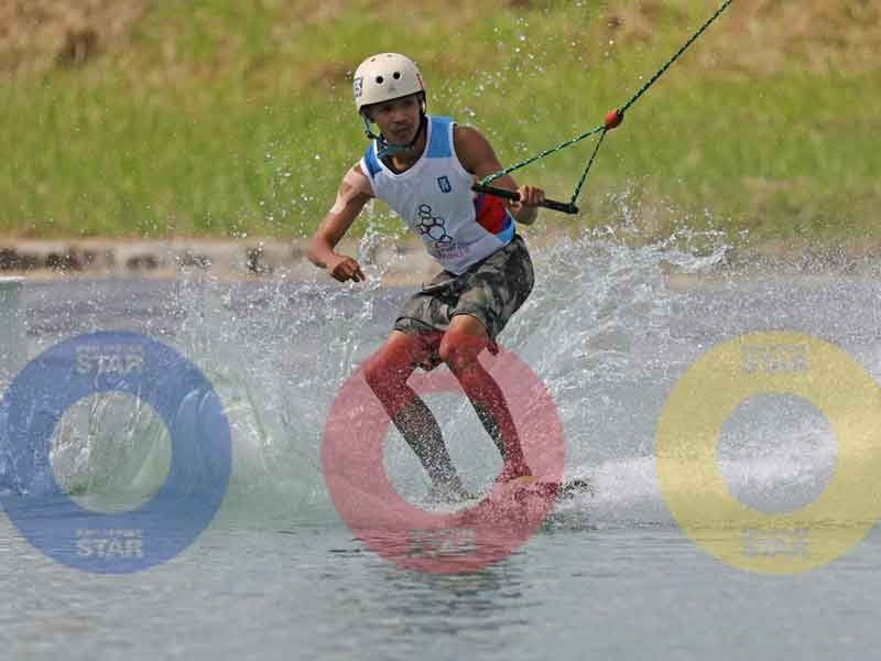 Philippines, Thailand capture 2 golds in SEA Games waterski, wakeboard