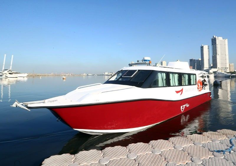 Pasig River ferry service relaunched