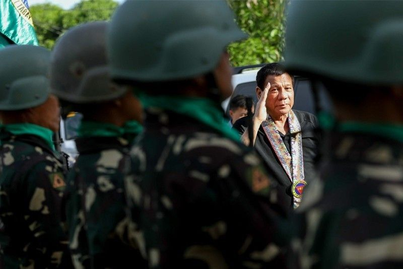 Duterte: No martial law extension in Mindanao