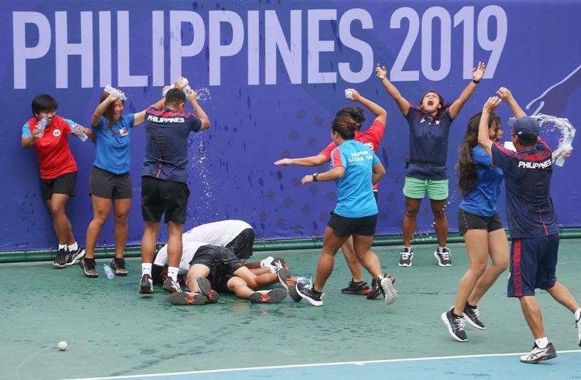 Pinoy netters humirit pa ng ginto