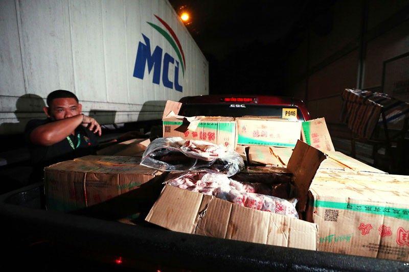 12,000 kilos of meat seized in Navotas