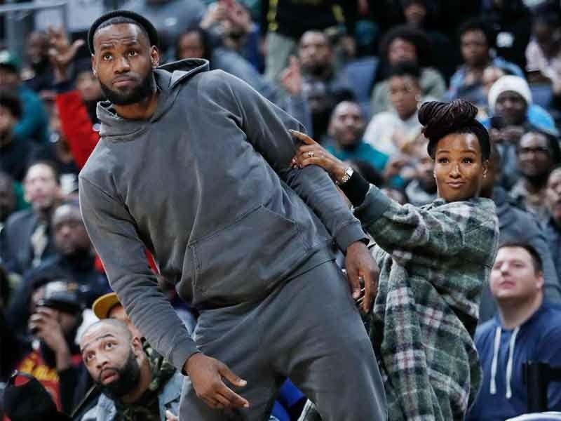 NBA season becomes a family affair for LeBron James