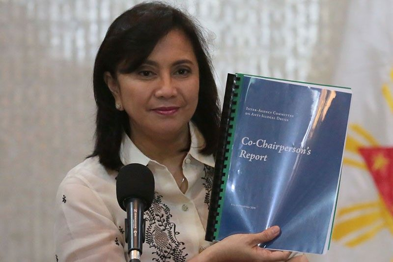 Robredo postpones release of 'drug war' report to call for quake relief