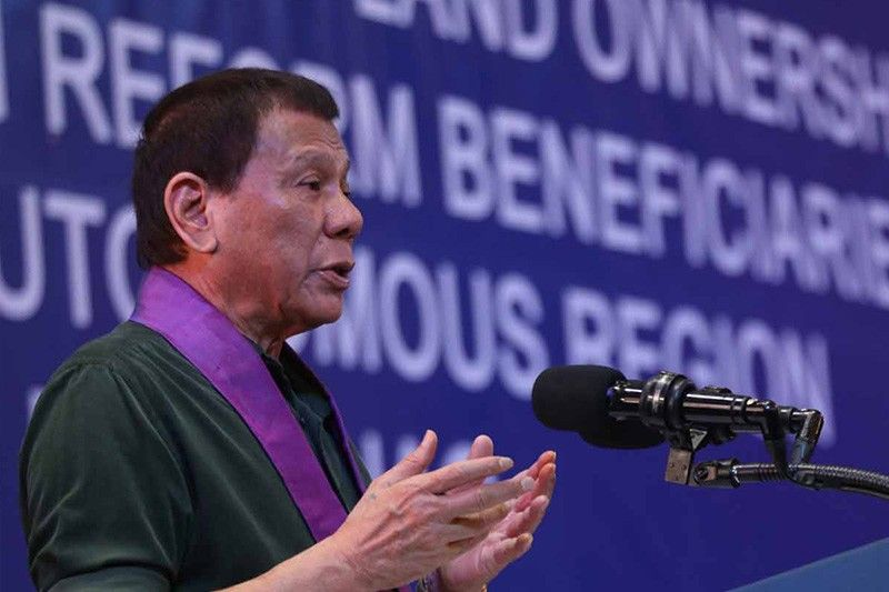 Duterte tells ABS-CBN owners to just sell the TV network