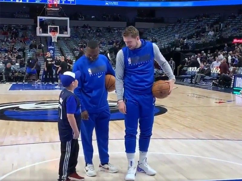 Doncic thrills young fan who says NBA star eases epileptic seizures
