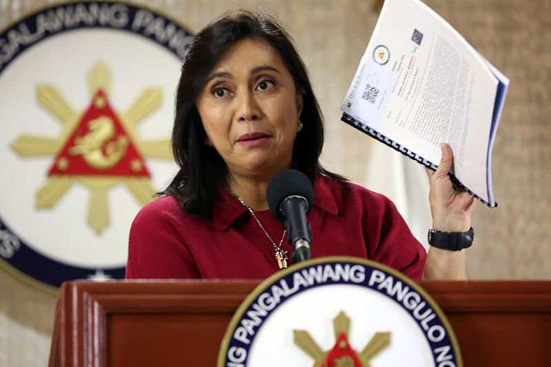 Robredo points out 'inconsistent' government data on 'drug war'
