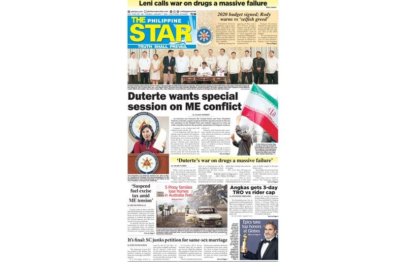 The STAR Cover (January 7, 2020)