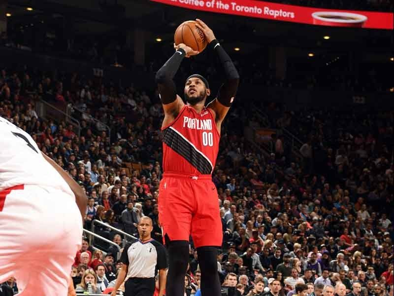 Carmelo Anthony scores 28, hits game-winner as Blazers ...