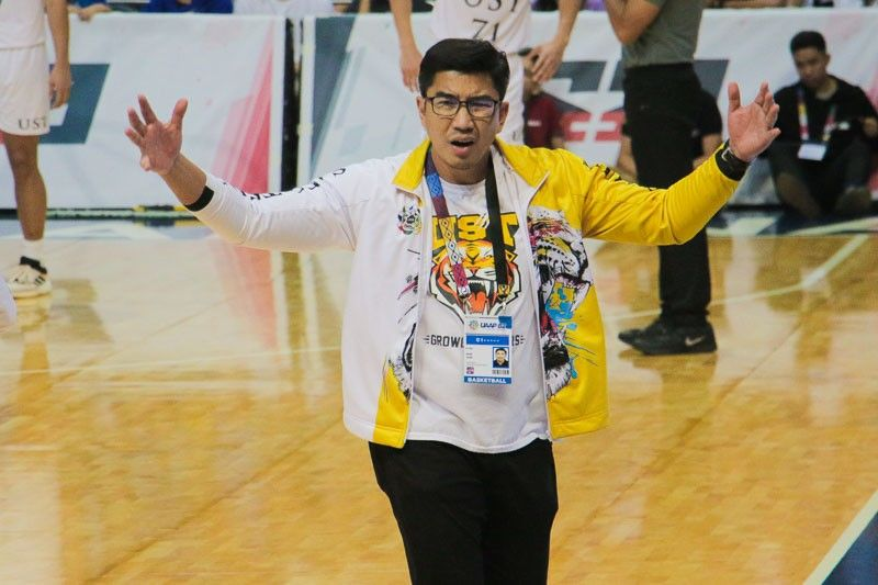 Ayo banking on newcomers to help UST's cause