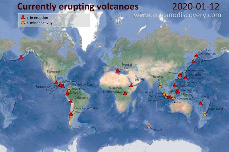 'Signs of the times'? Simultaneous volcanic activity is normal, scientists say