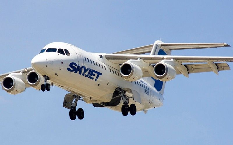 SkyJet resumes flights to Siargao in March