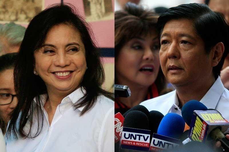Robredo kay Marcos: 'Wag tumakbo sa 2022 kung 'di kayang tumanggap ng talo