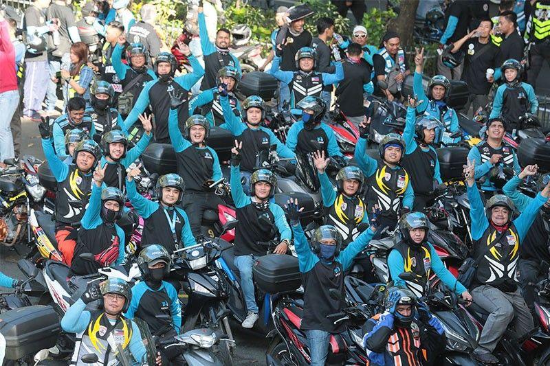 Motorycle taxi cap increased to 63,000 bikers