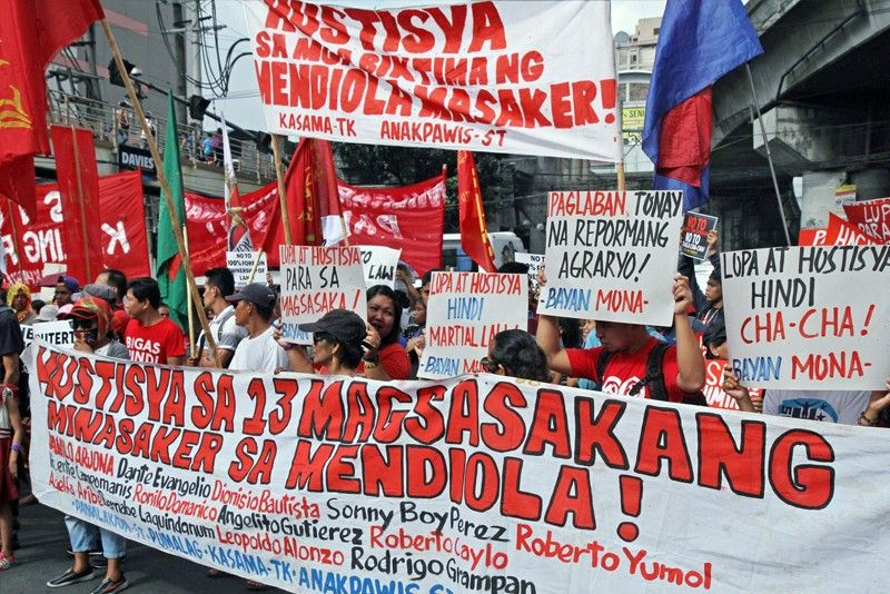 Timeline of Mendiola massacre: 33 years and counting