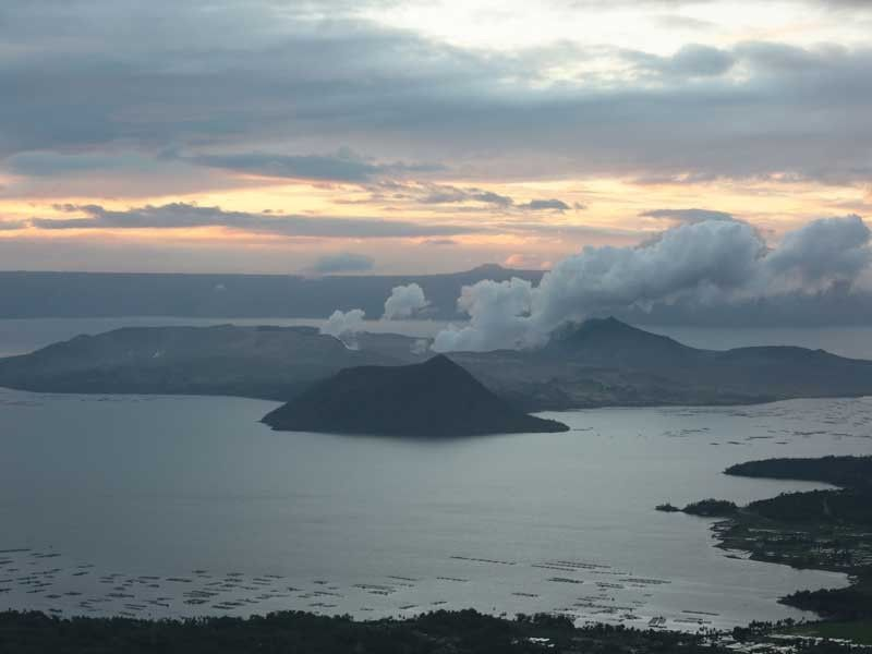 Phivolcs: Steam from Taal increases after lull