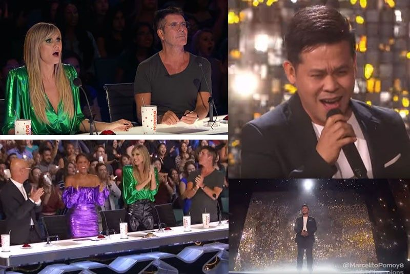WATCH: Marcelito Pomoy enters 'America's Got Talent' finals