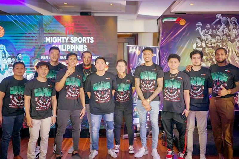 Mighty always ready to carry Philippine flag
