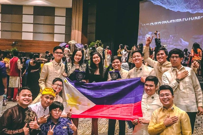 Cebuana student leads Philippines winners at UN event in Bali