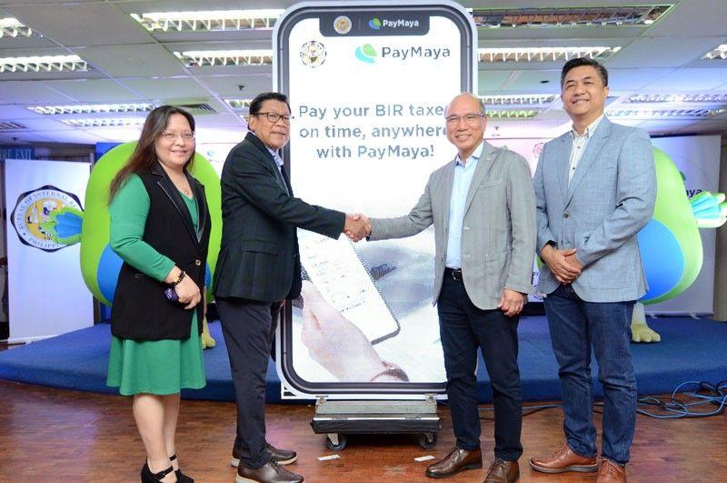 BIR partners with PayMaya  for digital tax payments
