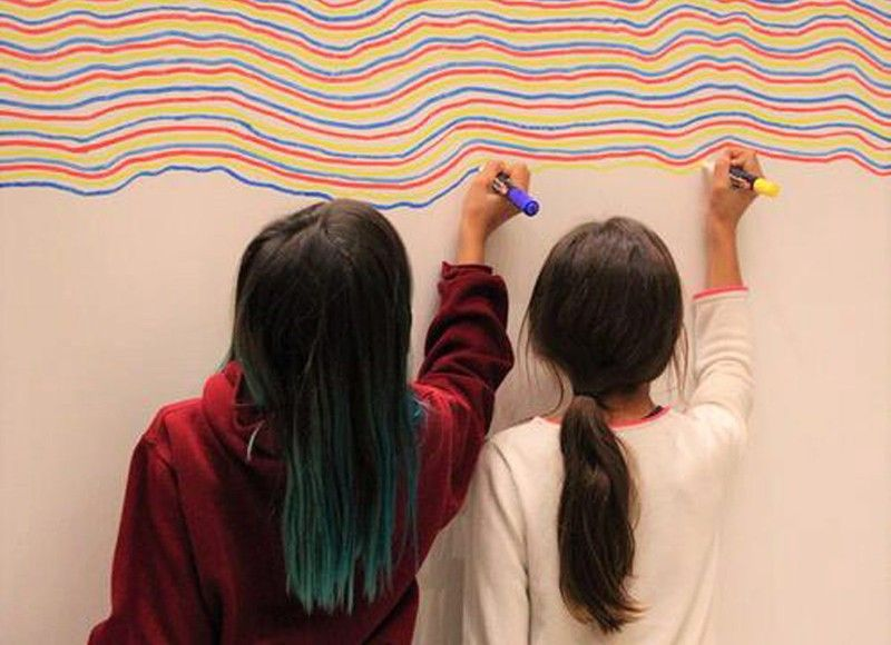 Stubborn artists and the salience of LeWitt�s lines