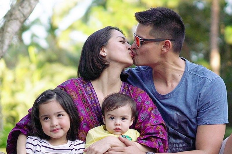 10th month ni Ziggy isinabay sa Valentine�s  nina Marian, Dingdong at Zia
