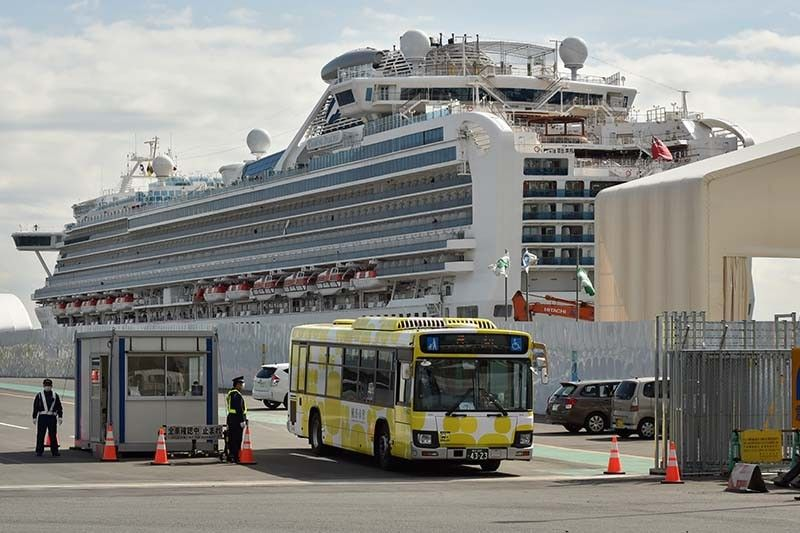 Philippines to repatriate Filipinos aboard virus-hit cruise ship in 'coming days'