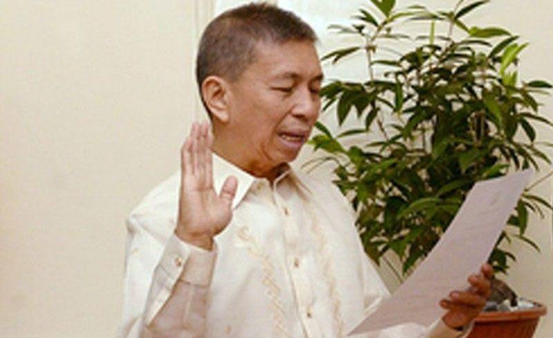 Sandigan Justice Reynaldo Cruz dies at 64