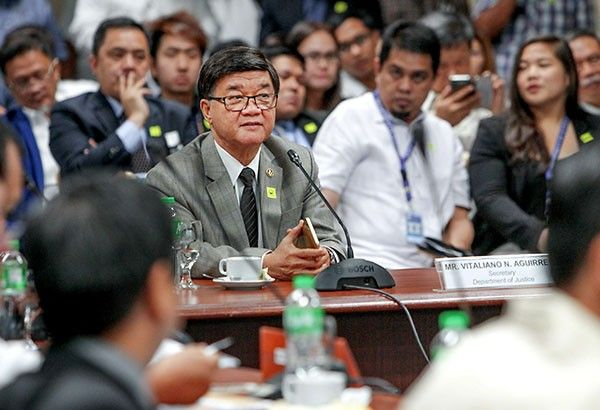 Aguirre tagged as 'protector' of 'pastillas' racket, denies accusations