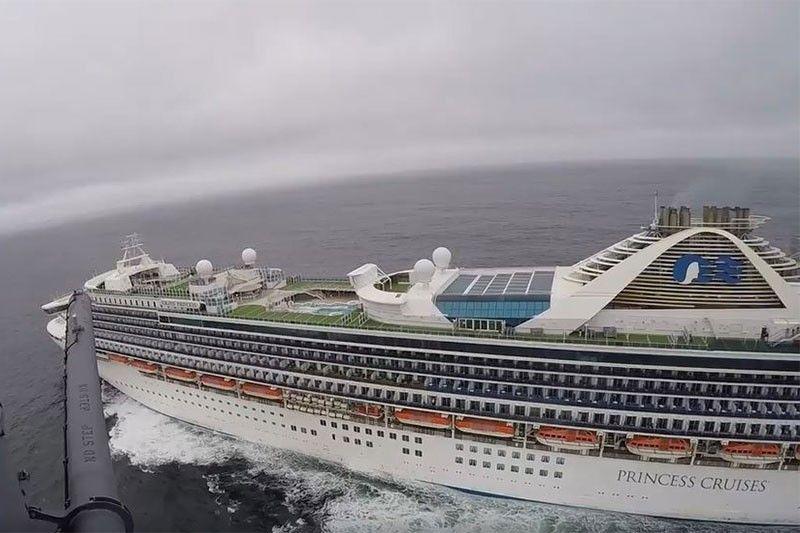Filipino crew member aboard Grand Princess cruise ship dies of COVID-19