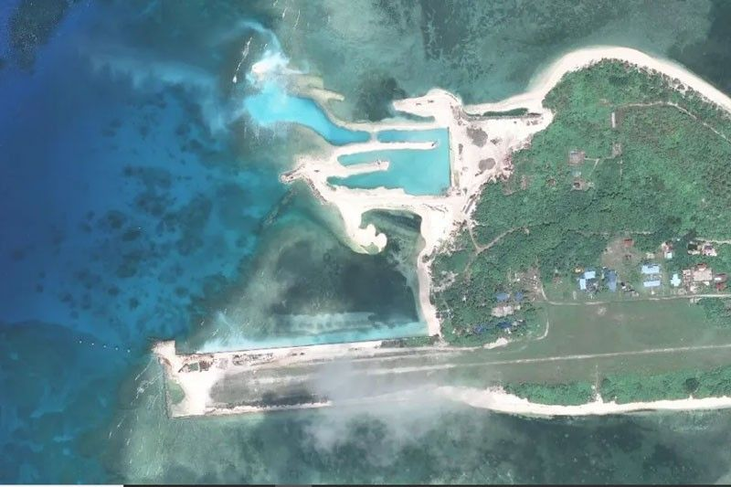 Chinese militia presence slowed down Pag-asa Island repairs � think tank