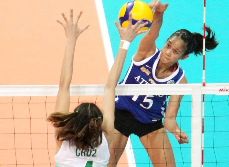 Lady Spikers stun Lady Eagles