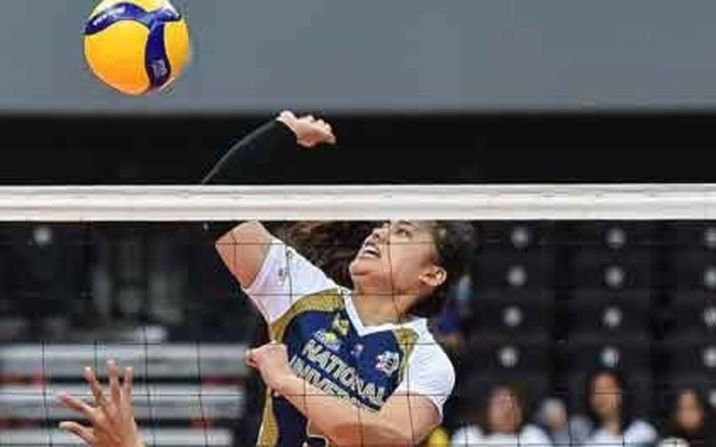NU spikers show way on 2 fronts