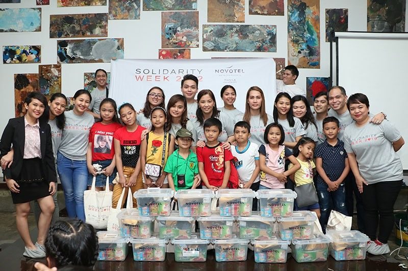 Accor Philippines gives joy to children of Virlanie Foundation in Tondo