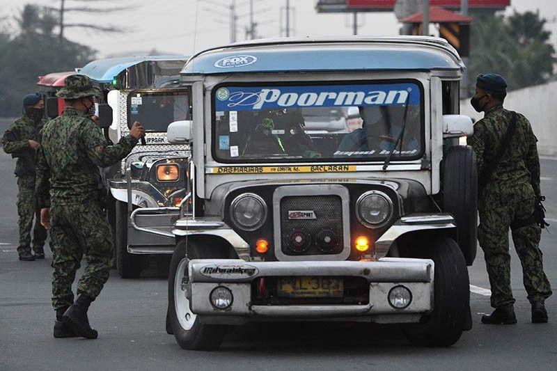 No mass transportation amid 'enhanced community quarantine' in Luzon